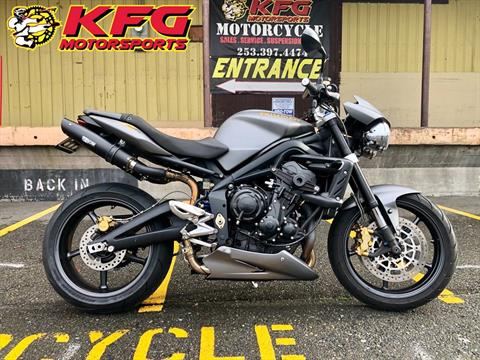 2009 Triumph Street Triple R in Auburn, Washington - Photo 1