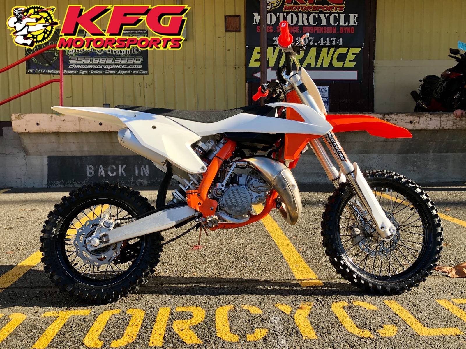 2018 KTM 85 SX 17/14 in Auburn, Washington - Photo 1