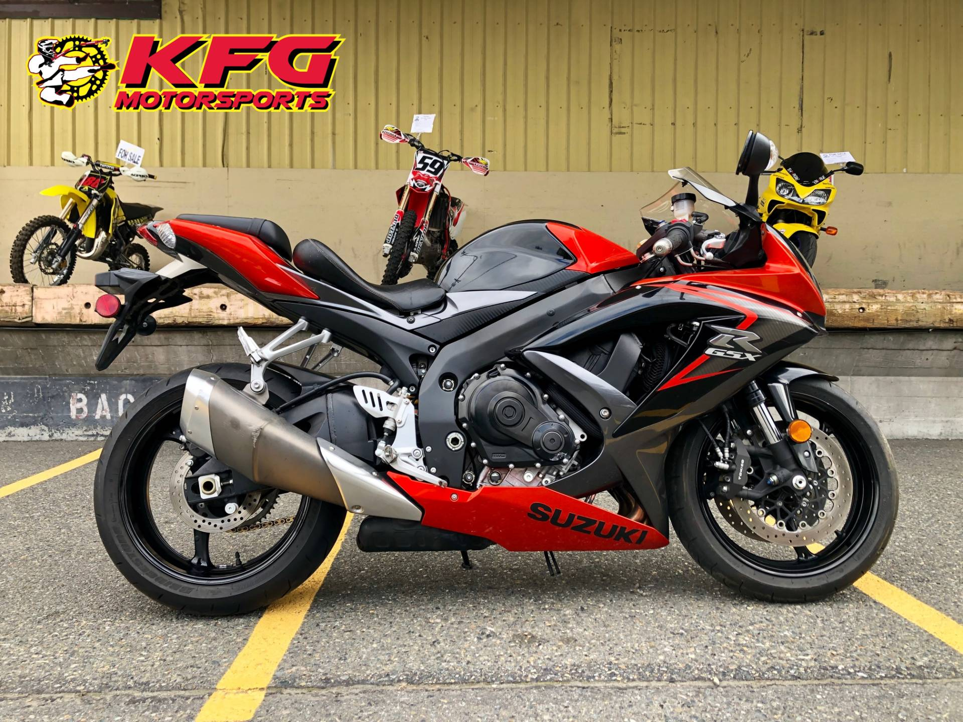 2008 Suzuki GSX-R750™ in Auburn, Washington - Photo 1