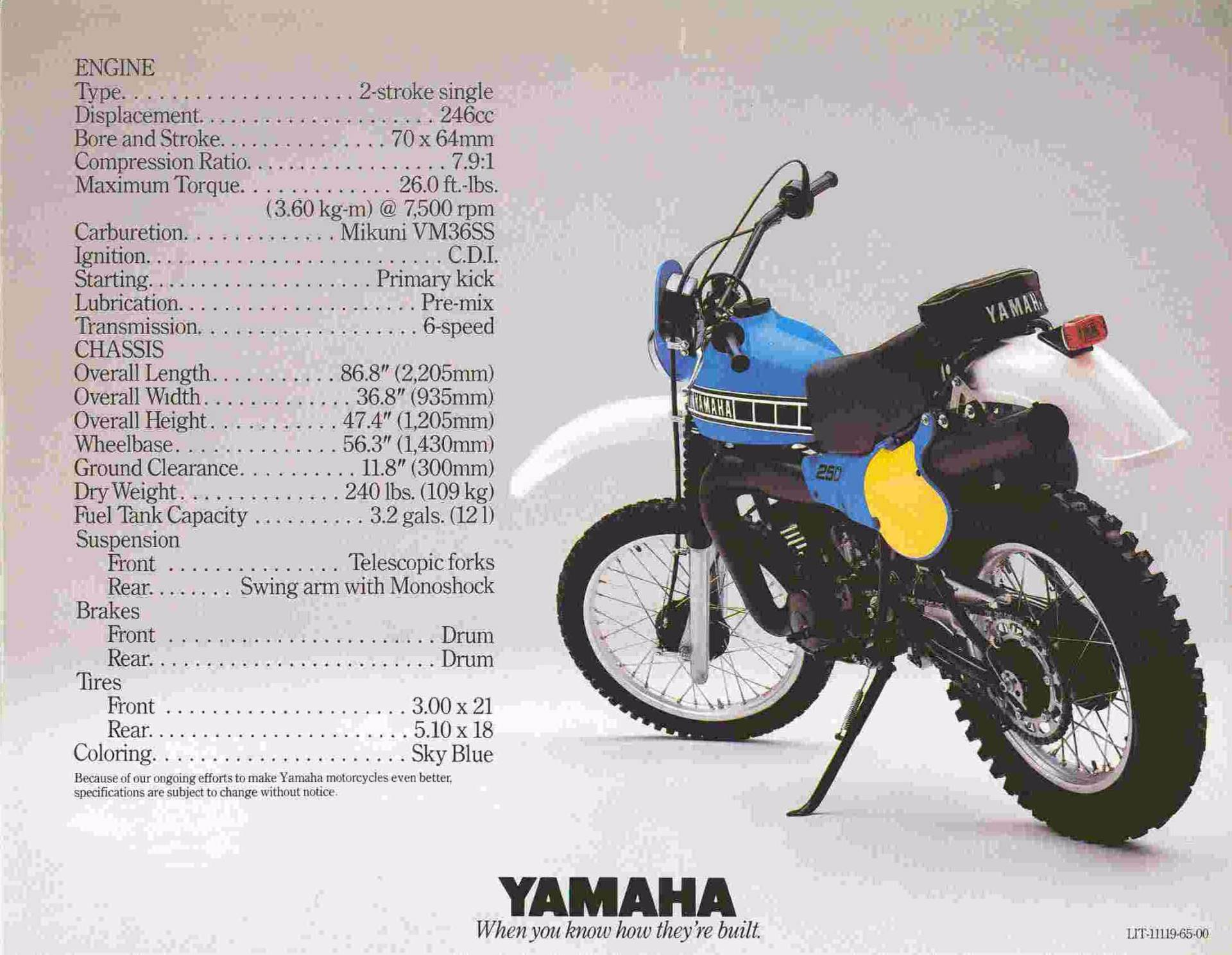 yamaha it. 1980 yamaha it 250 in auburn, washington it