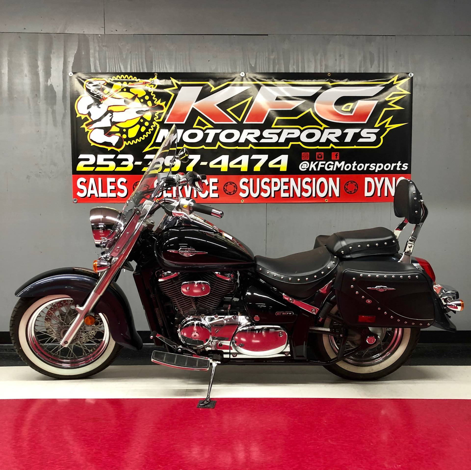 2011 Suzuki Boulevard C50T in Auburn, Washington