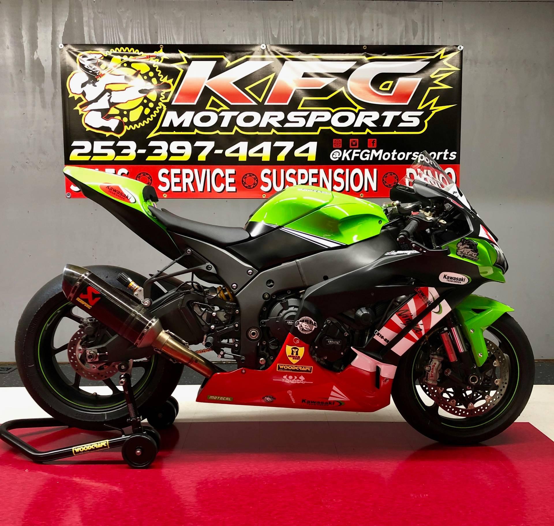 Used 2017 Kawasaki Zx10rr Race Bike Motorcycles In Auburn