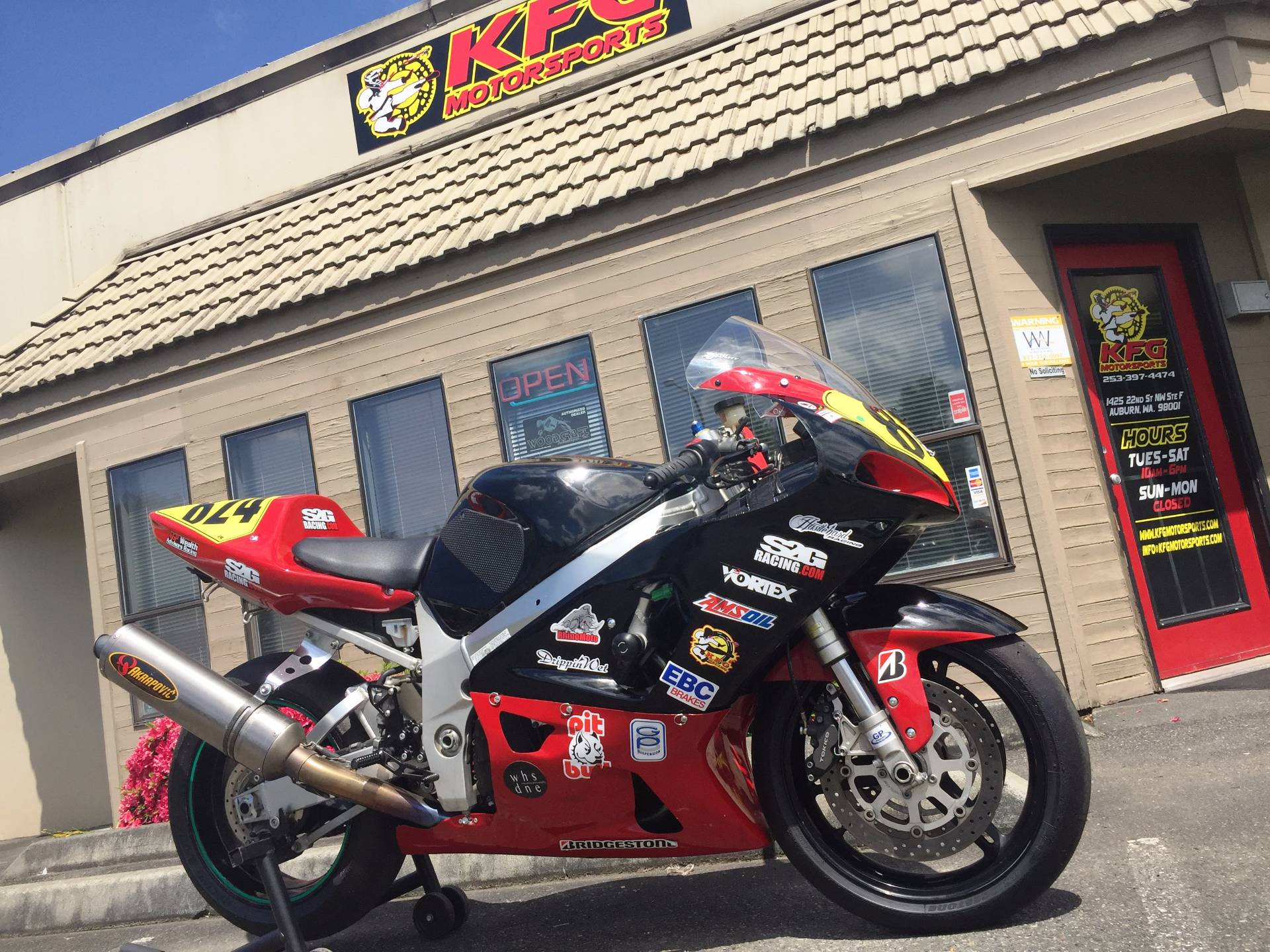 2001 Suzuki GSXR750 in Auburn, Washington
