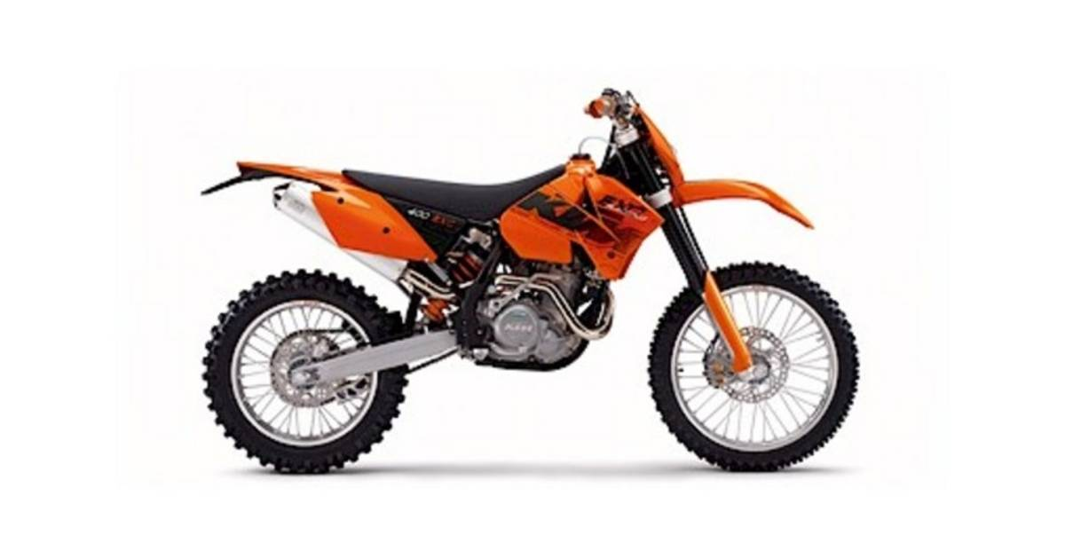 2006 KTM 400 EXCW in Auburn, Washington - Photo 6