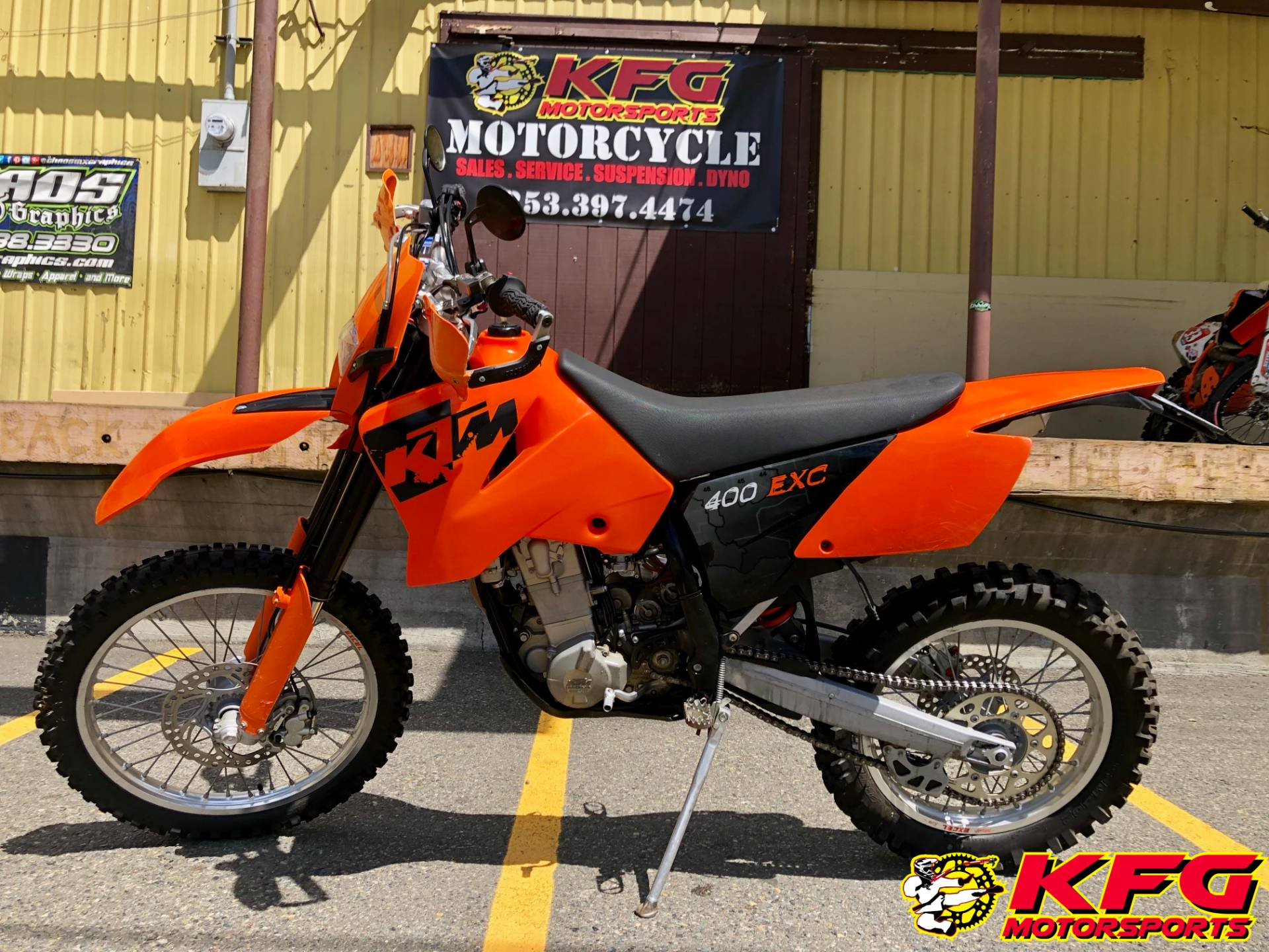 2006 KTM 400 EXCW in Auburn, Washington - Photo 1