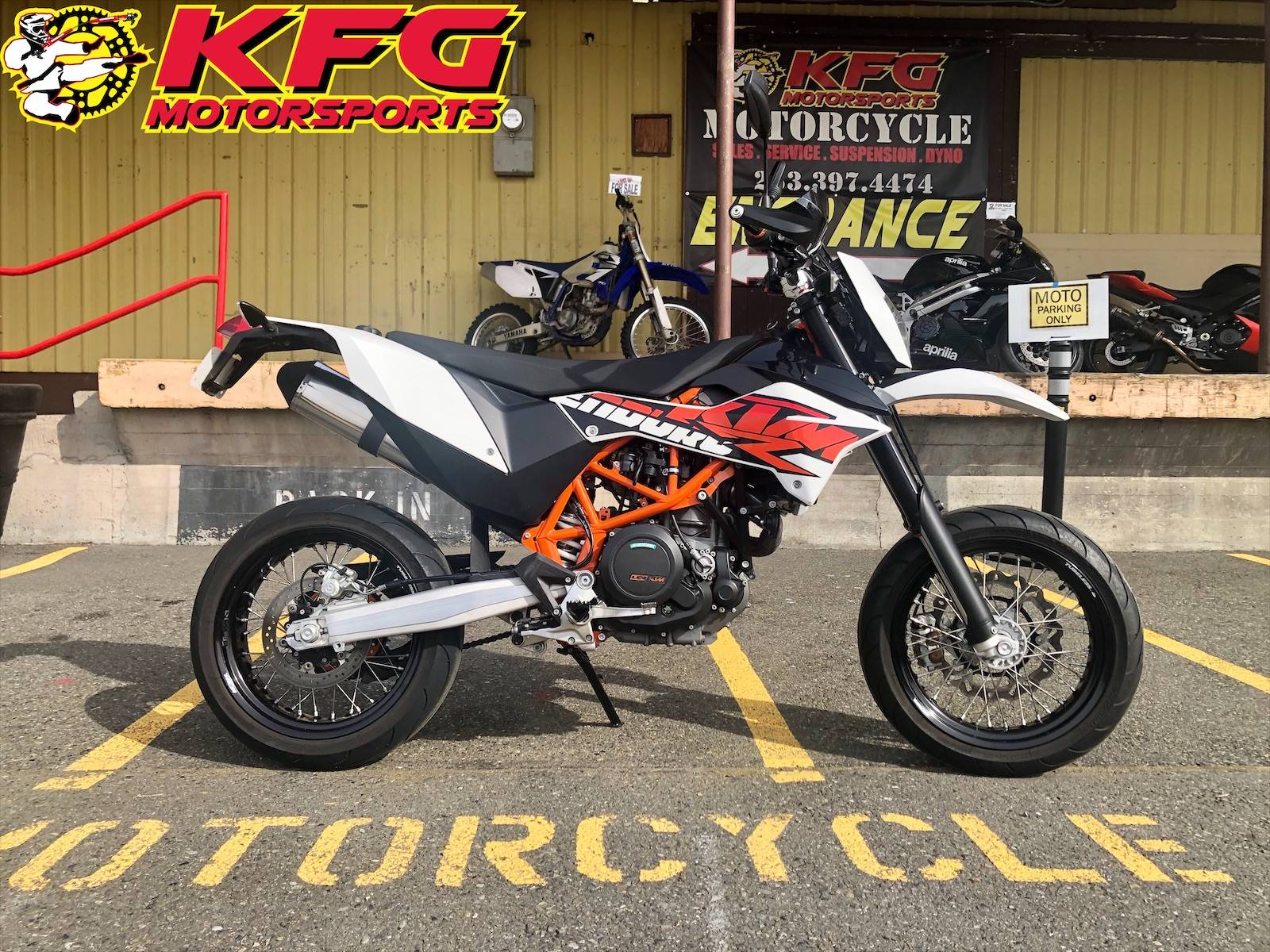 2015 KTM 690 Enduro R in Auburn, Washington - Photo 1