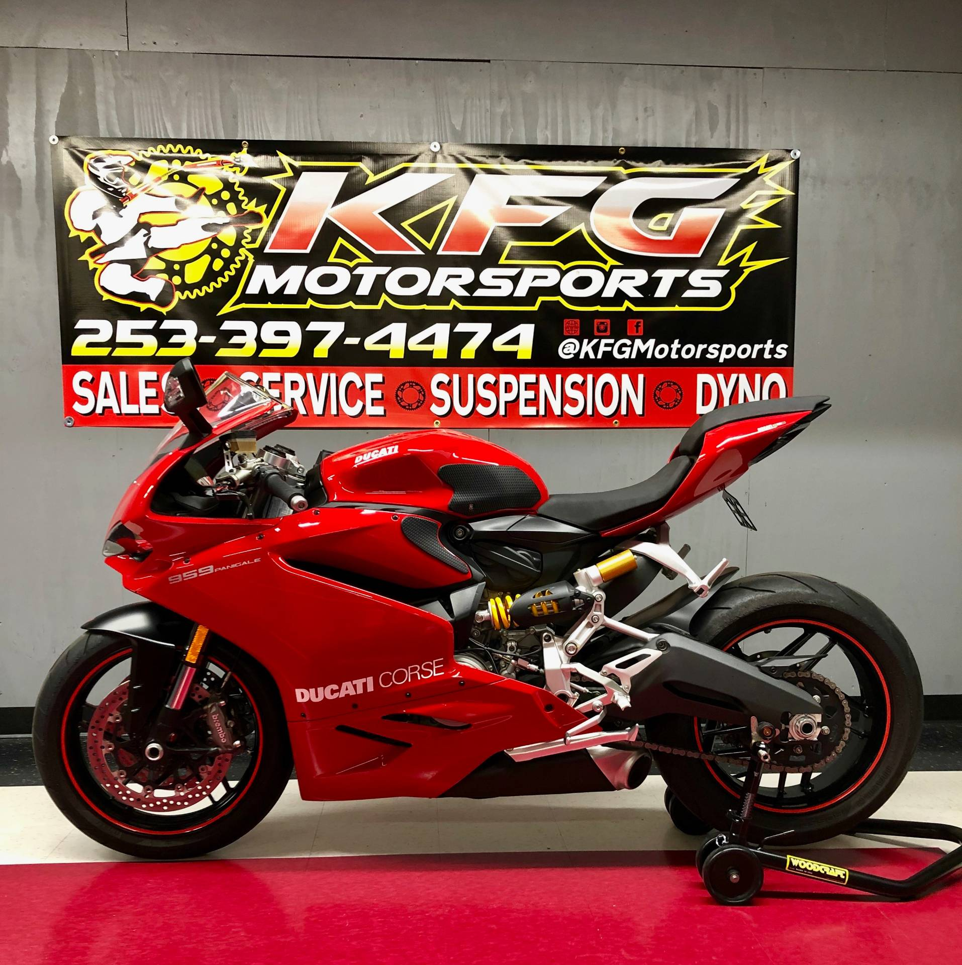 2016 Ducati 959 Panigale in Auburn, Washington