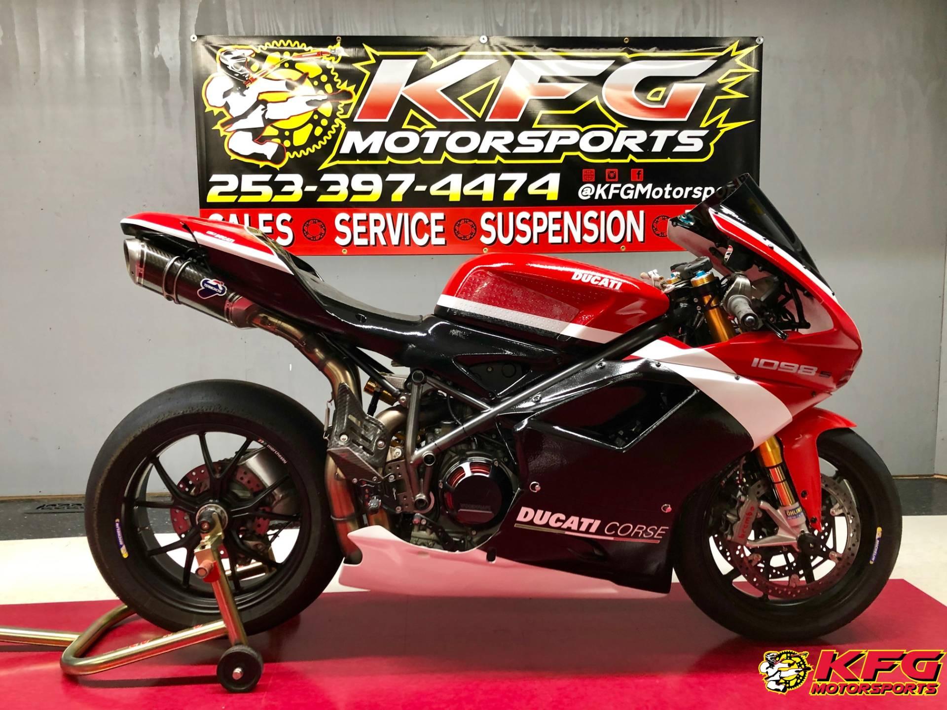 Used 2008 Ducati Superbike 1098 S Motorcycles In Auburn Wa Stock