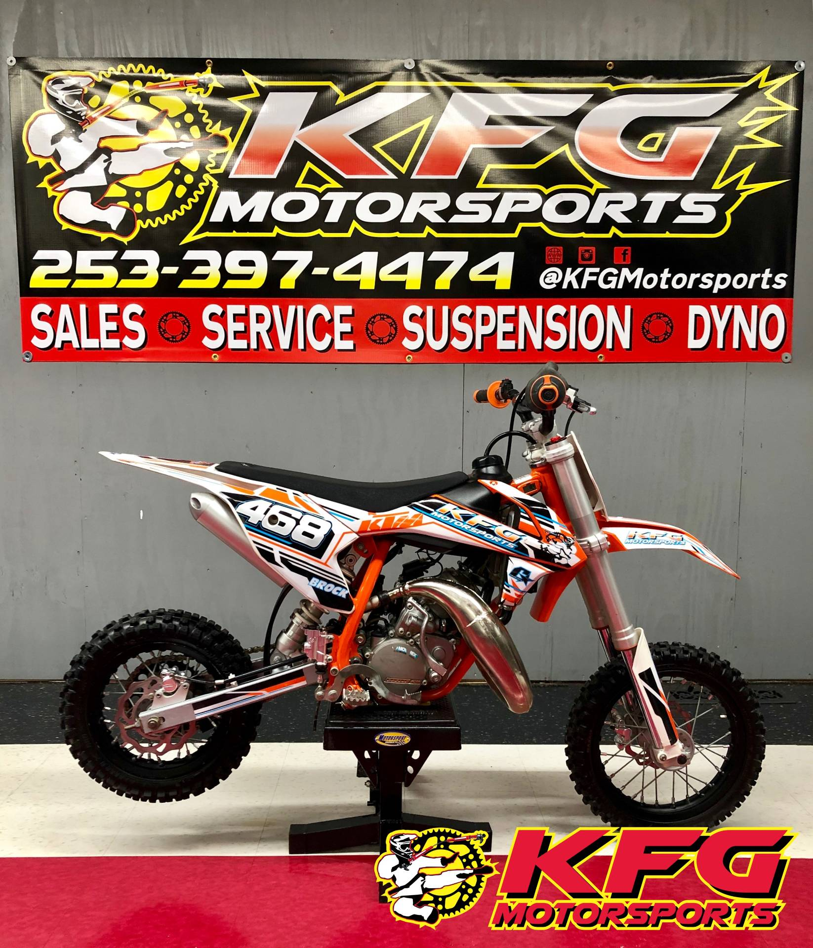2018 KTM 50 SX in Auburn, Washington