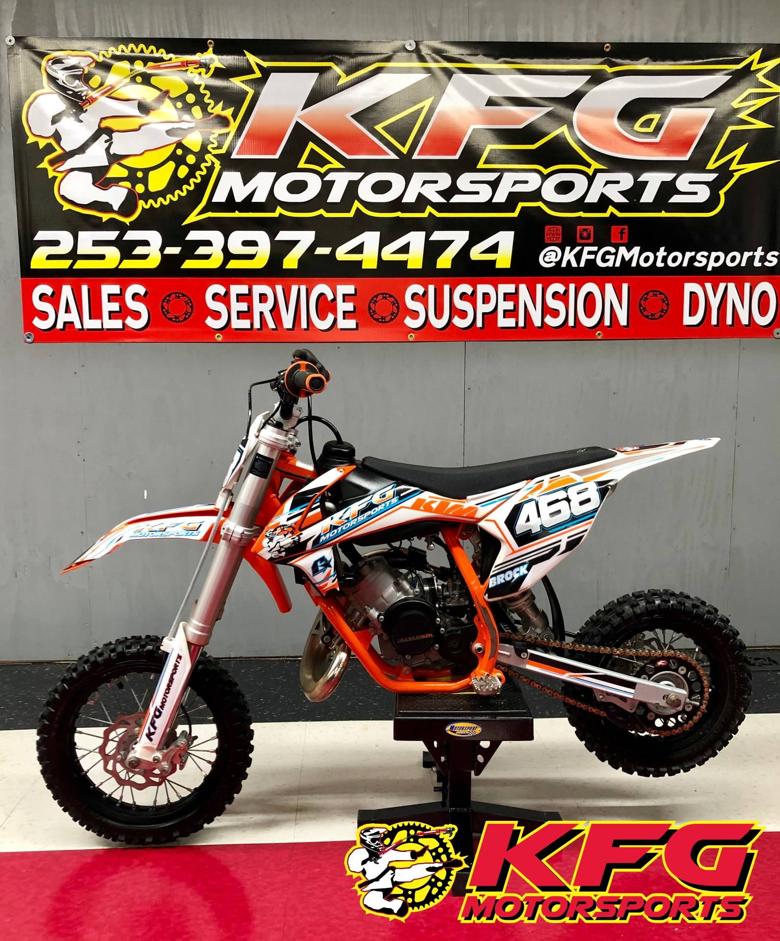 Used 2018 KTM 50 SX Motorcycles in Auburn, WA | Stock Number