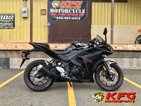 2018 Yamaha YZF-R3 ABS in Auburn, Washington
