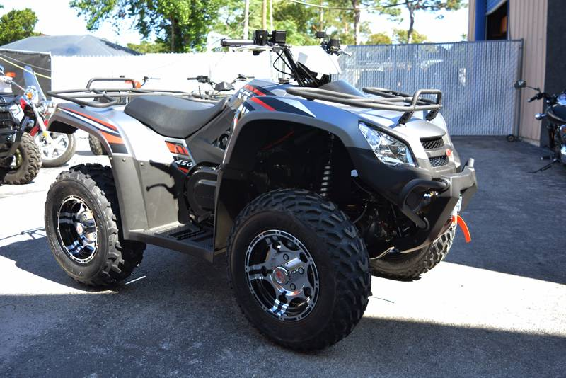 2018 Kymco MXU 450i LE in Clearwater, Florida