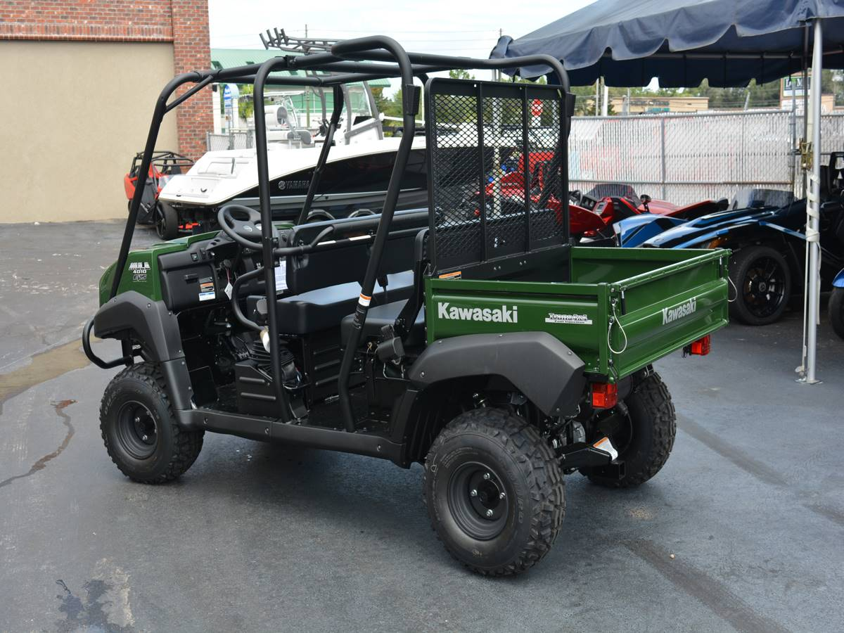 2019 Kawasaki Mule 4010 Trans4x4 in Clearwater, Florida - Photo 6