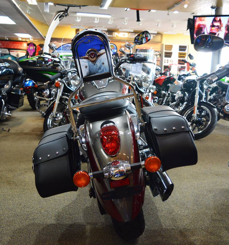 New 2018 Kawasaki Vulcan 900 Classic LT Motorcycles in Clearwater ...