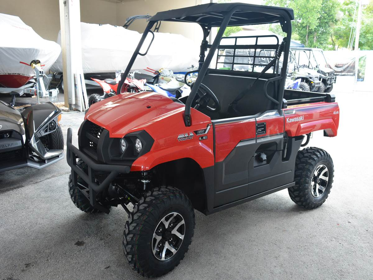 2019 Kawasaki Mule PRO-MX EPS LE in Clearwater, Florida - Photo 4
