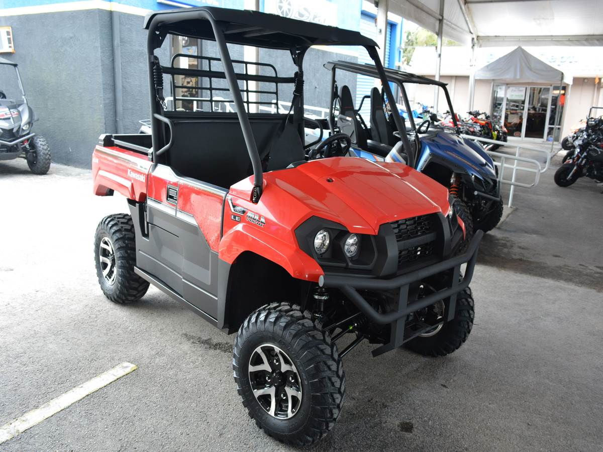 2019 Kawasaki Mule PRO-MX EPS LE in Clearwater, Florida