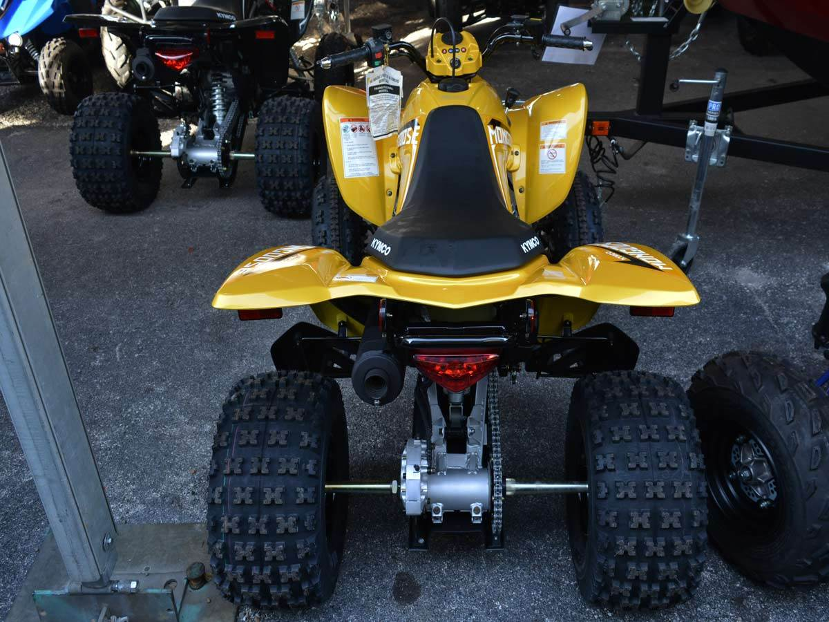 2020 Kymco Mongoose 270 Euro in Clearwater, Florida - Photo 5