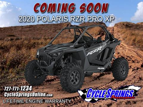 New 2020 Polaris RZR Pro XP Utility Vehicles in Clearwater