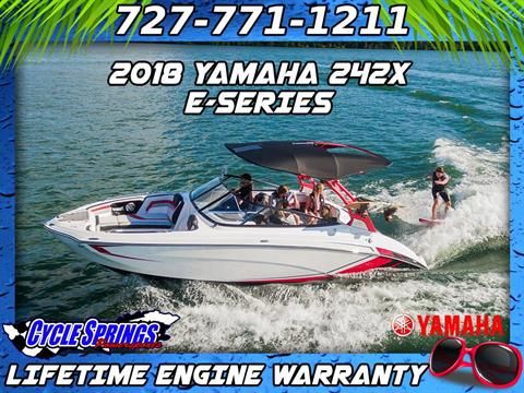 2018 Yamaha 242X E-Series in Clearwater, Florida
