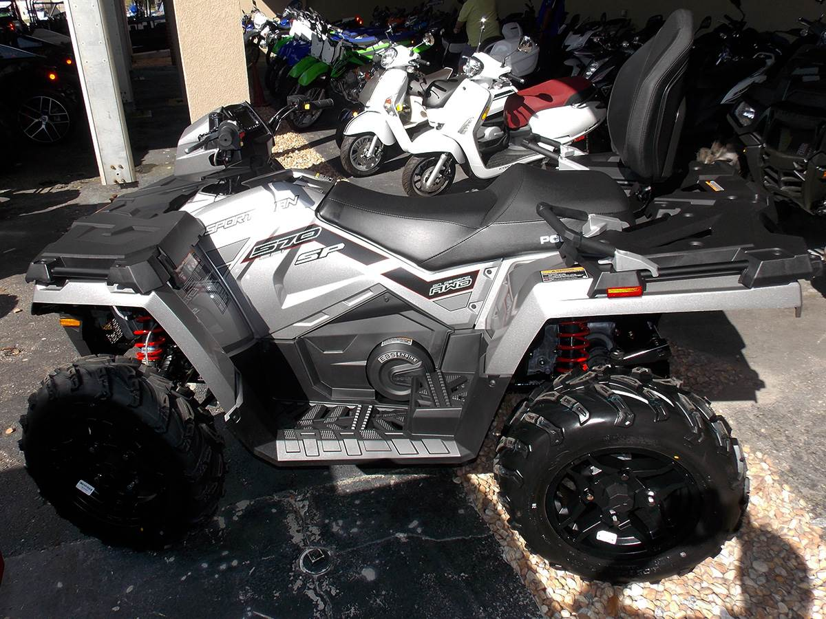 2019 Polaris Sportsman Touring 570 SP in Clearwater, Florida - Photo 6