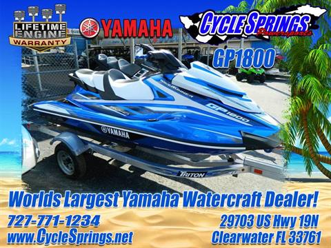 2017 Yamaha GP 1800 in Clearwater, Florida