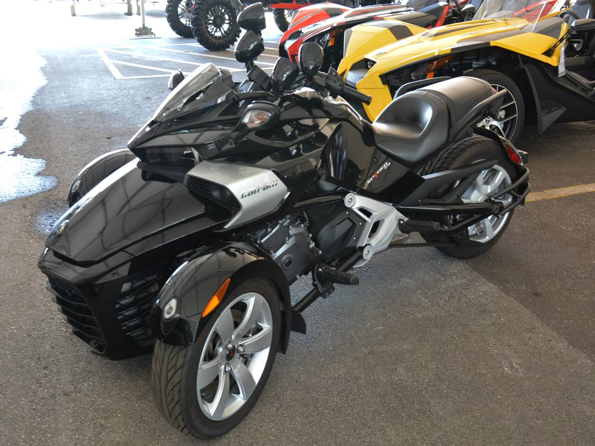 2015 Can-Am Spyder® F3-S SE6 in Clearwater, Florida - Photo 8