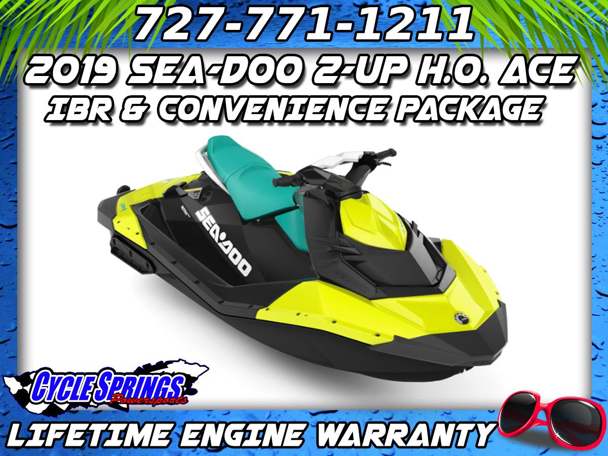 2019 Sea-Doo Spark 2up 900 H.O. ACE iBR + Convenience Package Plus in Clearwater, Florida - Photo 1