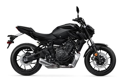2021 Yamaha MT-07 in Clearwater, Florida - Photo 1