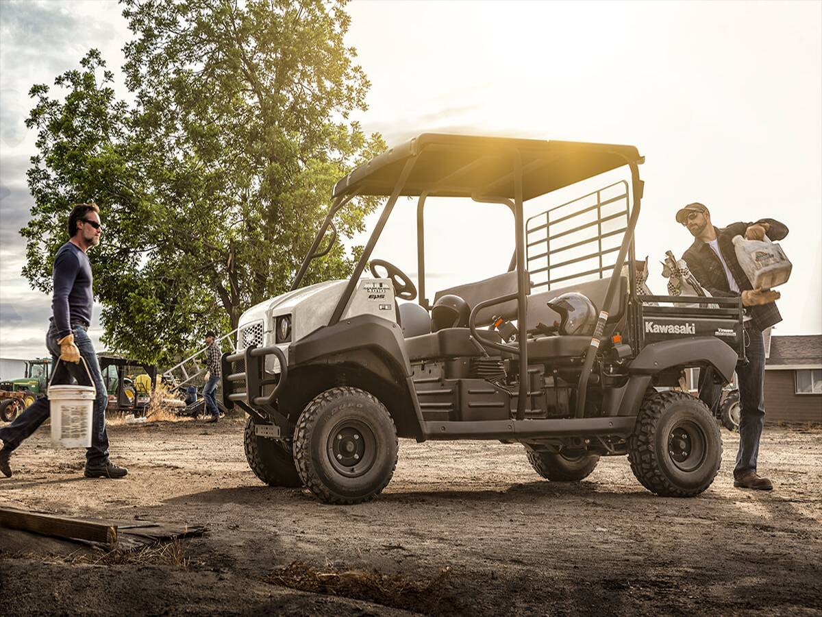 2021 Kawasaki Mule 4010 Trans4x4 FE in Clearwater, Florida - Photo 6