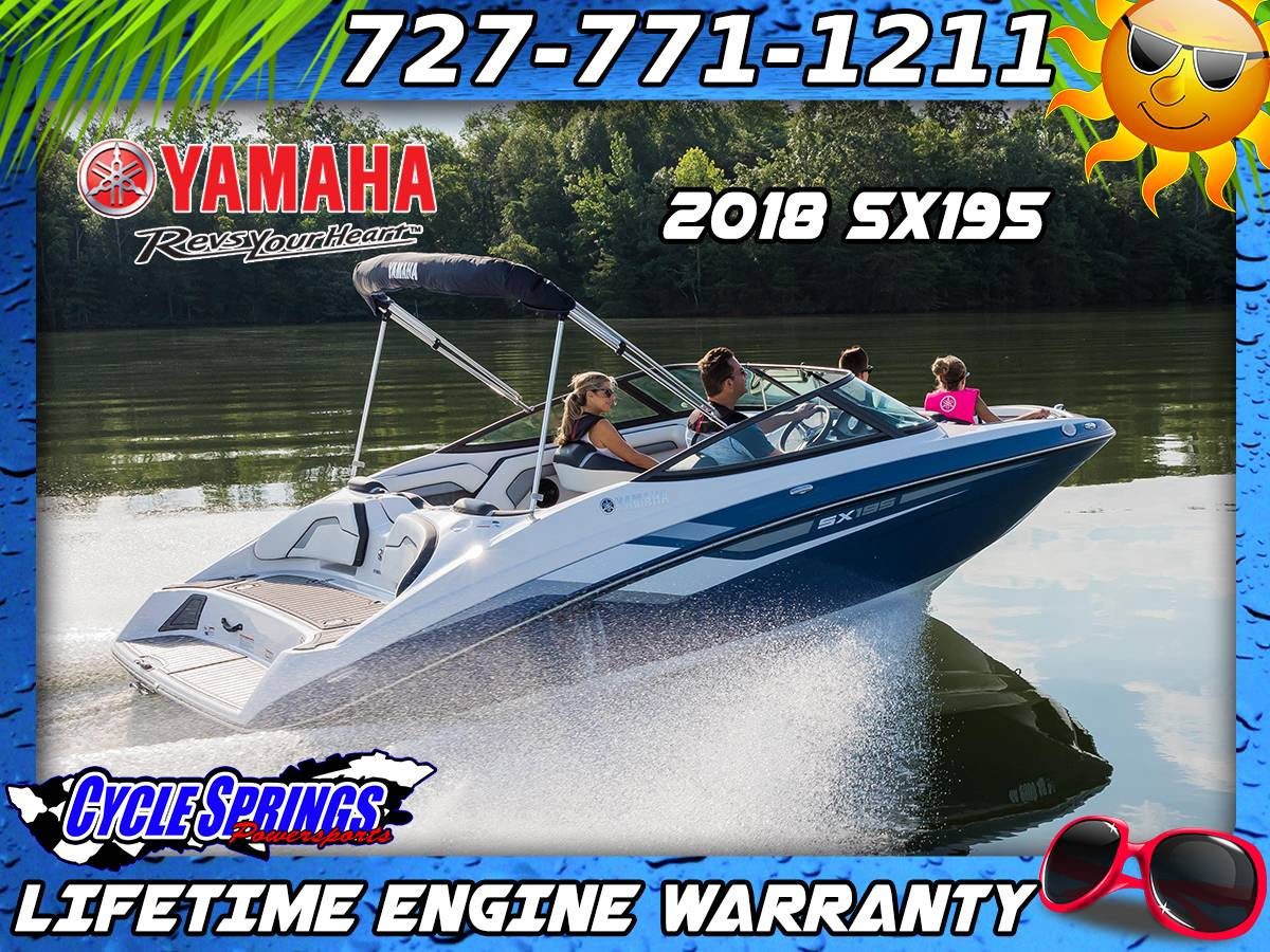 2018 Yamaha SX195 in Clearwater, Florida