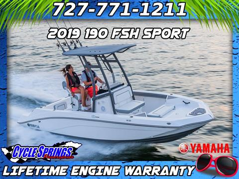 2019 Yamaha 190 FSH Sport in Clearwater, Florida
