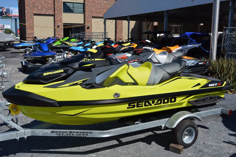 New 2018 Sea Doo Rxt X 300 Ibr Watercraft In Clearwater