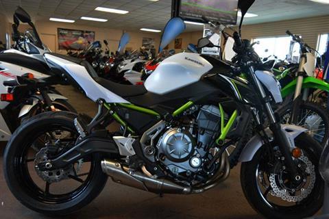 2017 Kawasaki Z650 ABS in Clearwater, Florida