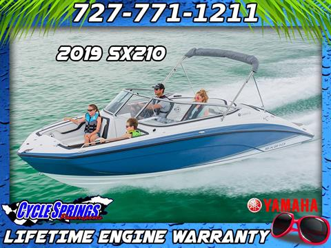2019 Yamaha SX210 in Clearwater, Florida