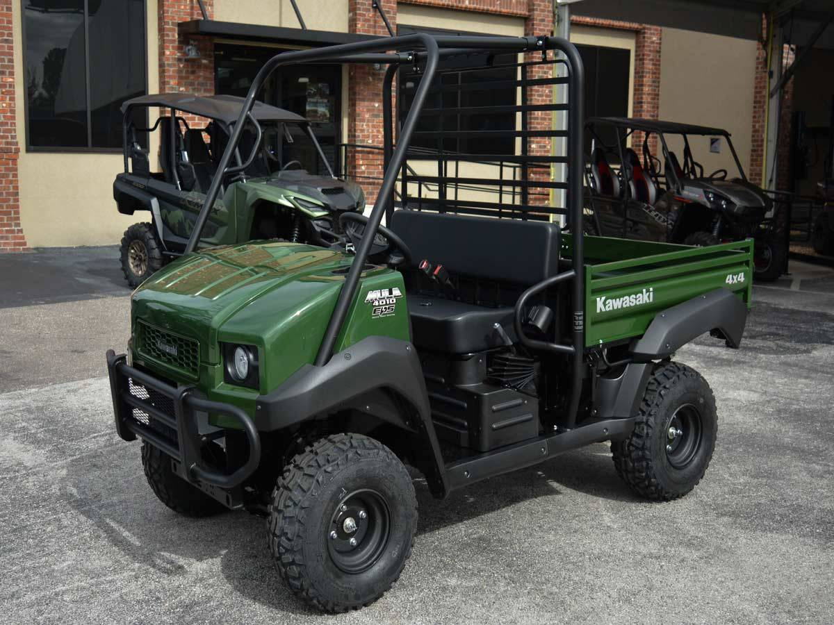 2021 Kawasaki Mule 4010 4x4 in Clearwater, Florida - Photo 9