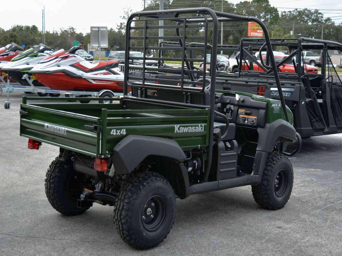 2021 Kawasaki Mule 4010 4x4 in Clearwater, Florida - Photo 11
