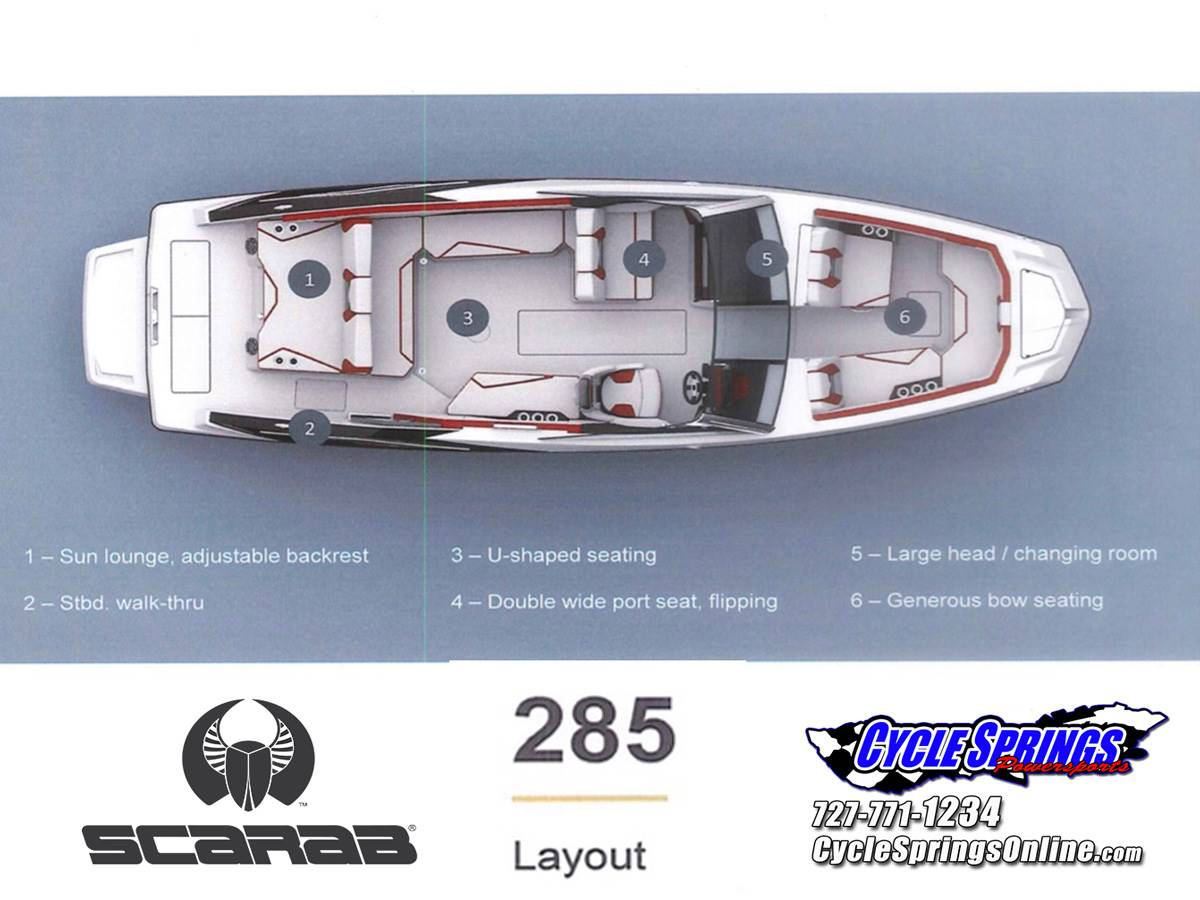 2020 Scarab 285 ID in Clearwater, Florida - Photo 29