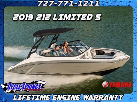 2019 Yamaha 212 Limited S in Clearwater, Florida