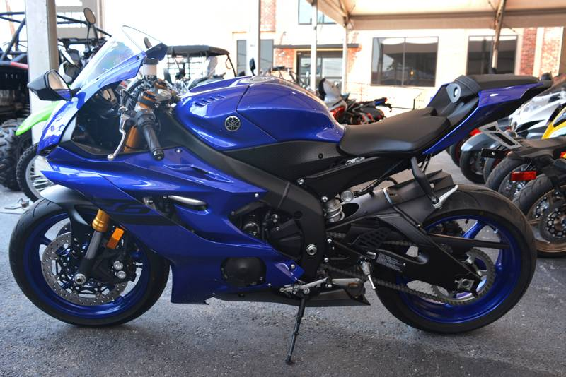 new 2018 yamaha yzf r6 motorcycles in clearwater fl stock number
