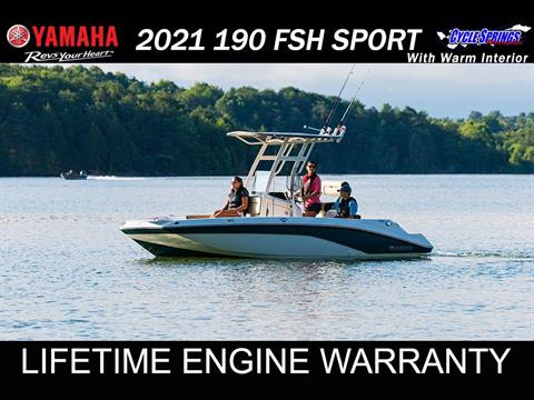 2021 Yamaha 190 FSH SPORT in Clearwater, Florida - Photo 1