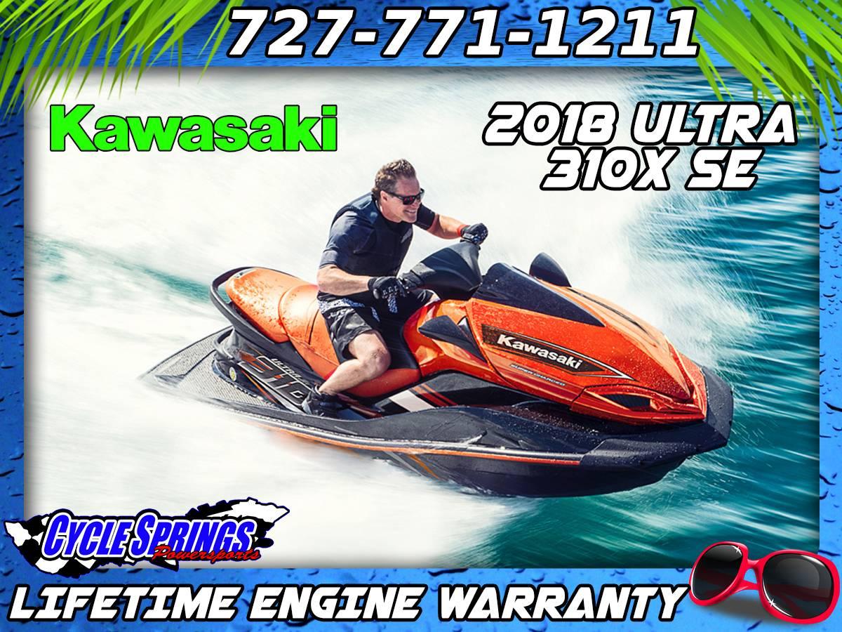 New 2018 Kawasaki Jet Ski Ultra 310X SE Watercraft in Clearwater, FL ...