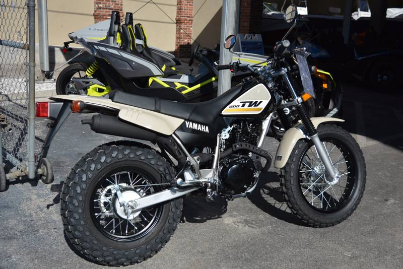 New 2018 Yamaha TW200 Motorcycles in Clearwater, FL | Stock Number ...