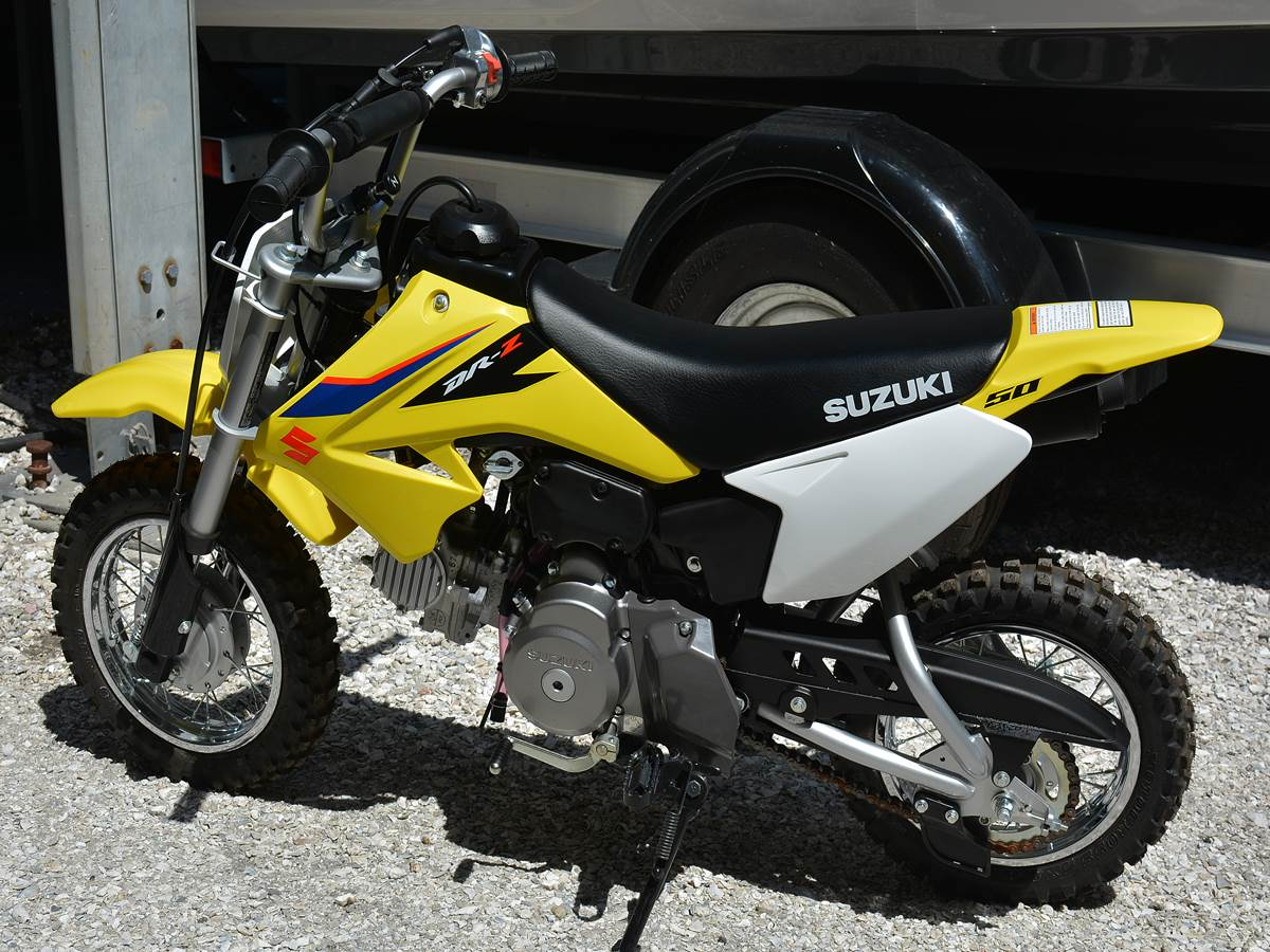 2019 Suzuki DR-Z50 in Clearwater, Florida - Photo 13