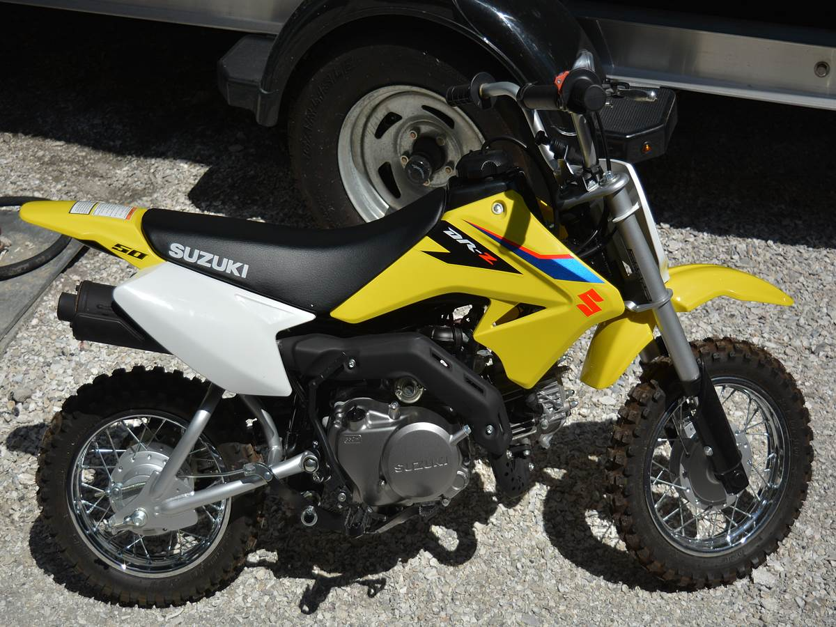 2019 Suzuki DR-Z50 in Clearwater, Florida - Photo 1