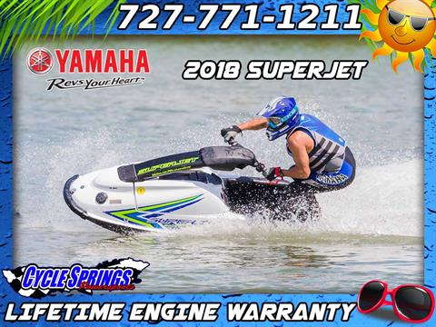 2018 Yamaha SuperJet in Clearwater, Florida