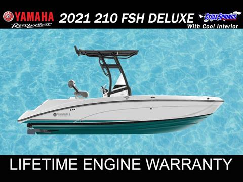 2021 Yamaha 210 FSH SPORT in Clearwater, Florida - Photo 1