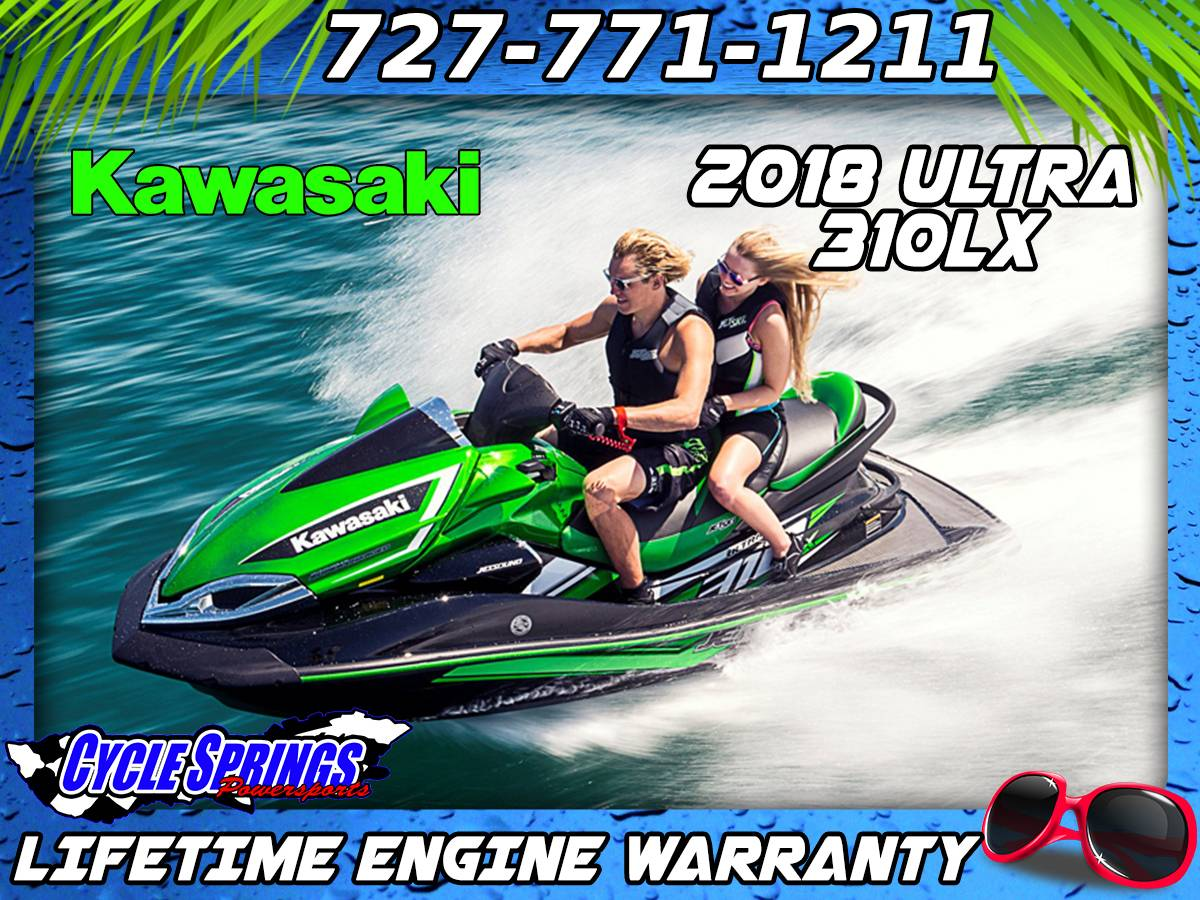 2018 Kawasaki Jet Ski Ultra 310LX in Clearwater, Florida