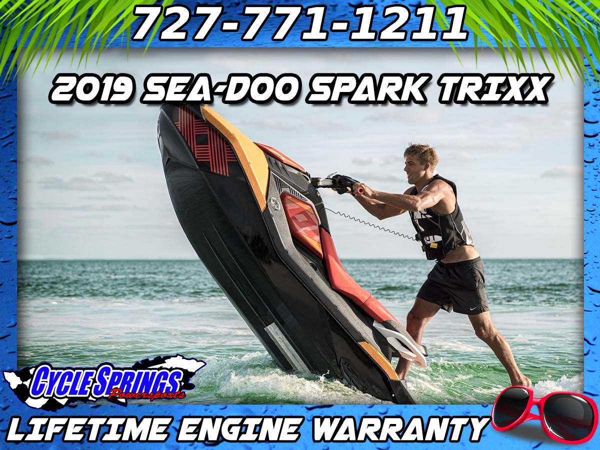 2019 Sea-Doo Spark Trixx 3up iBR in Clearwater, Florida - Photo 1