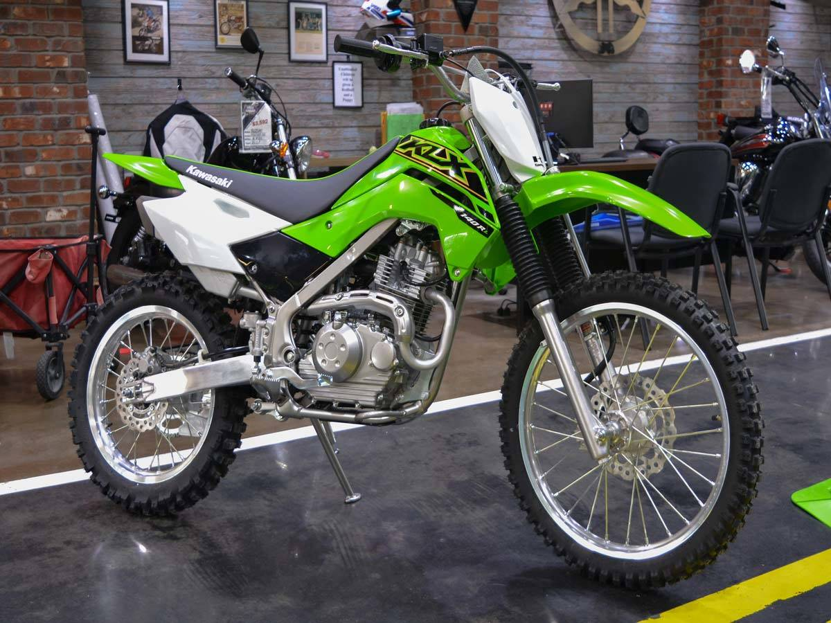 2021 Kawasaki KLX 140R L in Clearwater, Florida - Photo 1