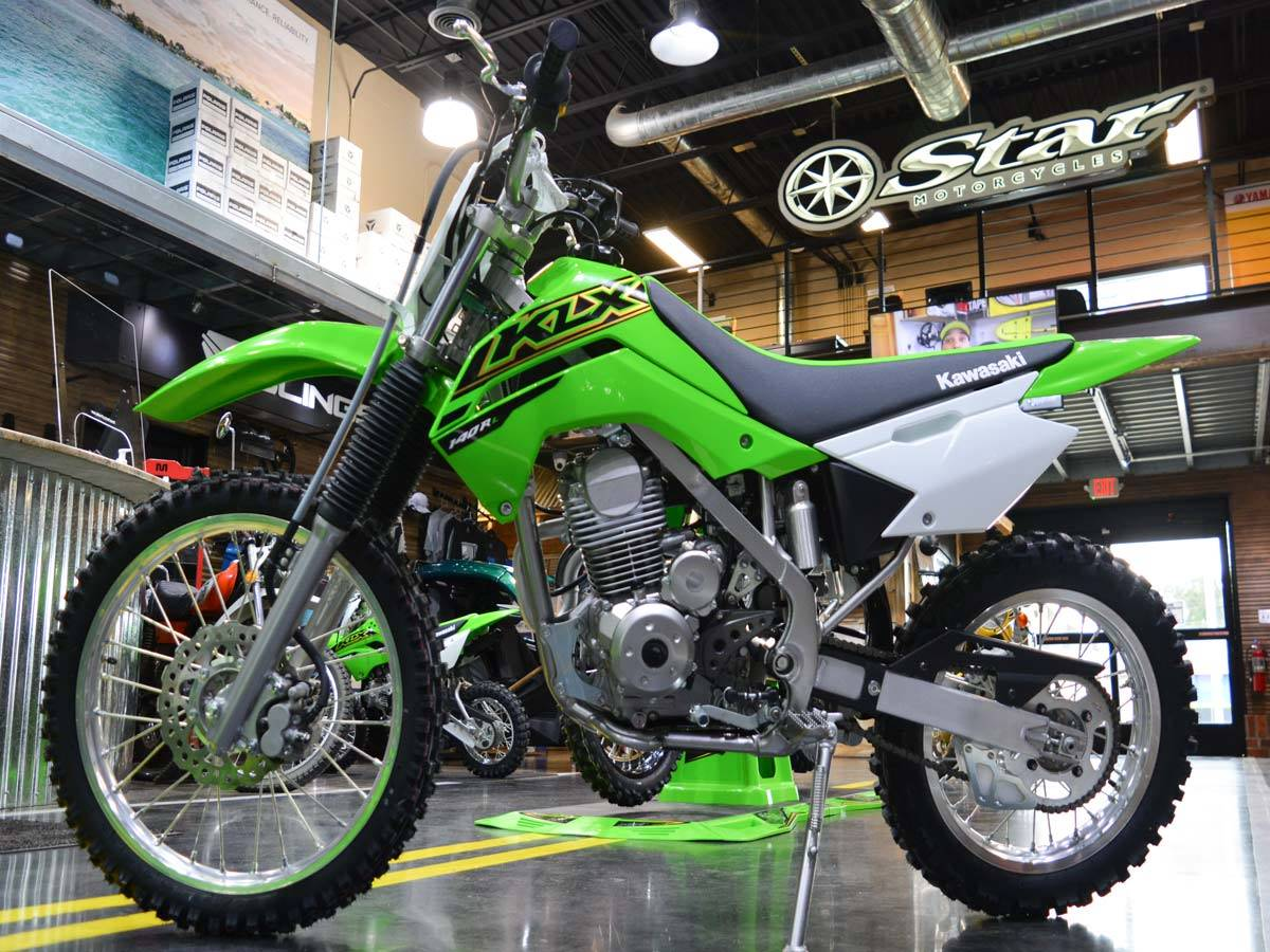 2021 Kawasaki KLX 140R L in Clearwater, Florida - Photo 2